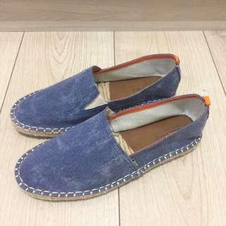 🆕智利品牌RKF 男/牛仔草編鞋 懶人鞋