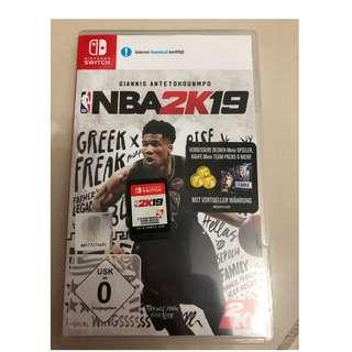 Nintendo Switch NBA2k19