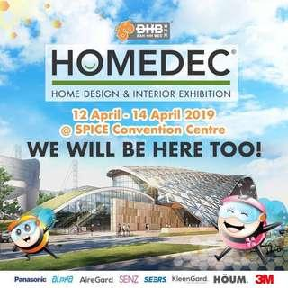 🛒 HOMEDEC is back at SETIA SPICE CONVENTION