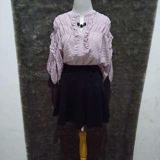Miniskirt black colorbox