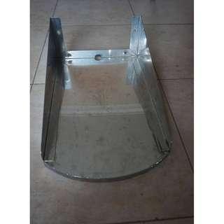 New unused 10/10 excellent condition s/steel religous altar stand