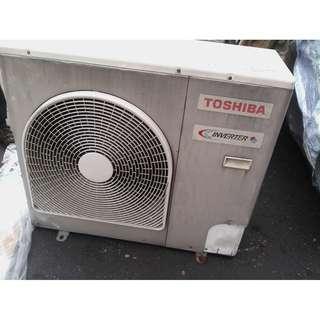 Ceiling Cassette Toshiba Inverter 4hp 1 set
