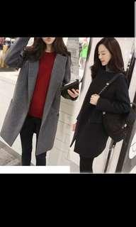 Winter autumn trench  Coat jacket