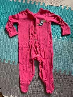 Coverall Pink