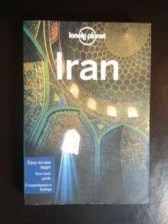 Lonely planet Travel Guide book. IRAN