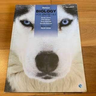 Nelson Biology VCE Units 1 & 2