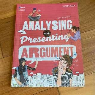 Analysing and Presenting Argument Student book