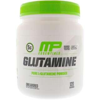 MusclePharm, Glutamine Essentials, Unflavored, 1.32 lbs (600 g) in stock