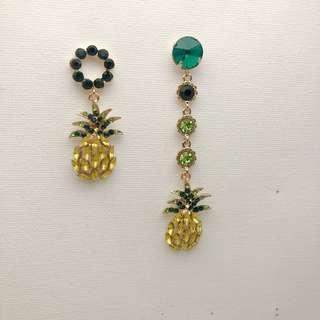Pineapple Style Earrings