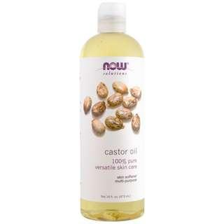 Now Foods, Solutions, Castor Oil, 16 fl oz (473 ml) in stock