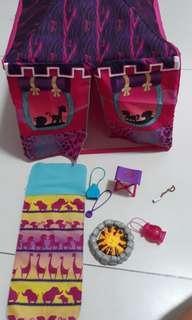 Barbie Doll Camping Tent