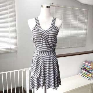 Miss Selfridge Backless Wrap Around Dress