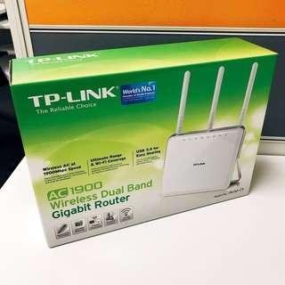 *全新半價* 市價$640。TP-LINK Router(AC1900。Archer C9) Wifi 路由器 Wireless Dual Band Gigabit Router