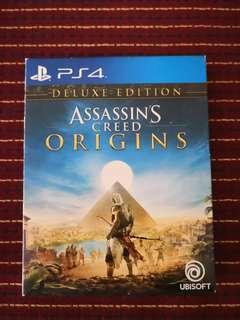 SONY PLAYSTATION 4 (PS4) GAME: ASSASSINS CREES ORIGINS