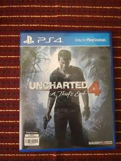 SONY PLAYSTATION 4 GAME (PS4): UNCHARTED 4
