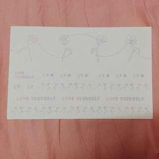Sticker Love Yourself - BTS