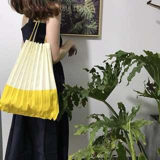 🚚 Essa Pleated Japanese Shoppers Tote