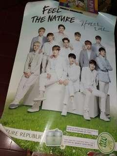 EXO Nature Republic Poster (Complete Members)