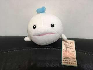 🚚 《全新現貨》療癒家族 海豚 白色 塑形 泡沫粒子 可愛 擺飾 舒壓