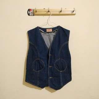 Kondisi 95% - Denim Vest / Rompi Jeans