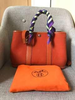 Rush SALE! Authentic Hermes Garden Party Tpm