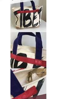 Marc Jacobs MJ canvas zipper tote bag-limited edition 限量版