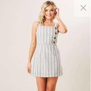 Stripe Mini Aline Dress