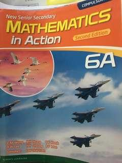 Mathematics In Action 6A Pearson