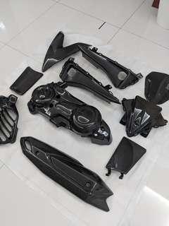 Carbon Fiber Accessories for Yamaha Aerox 155