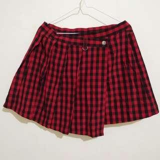 Tartan Skirt - Fit to Big Size!