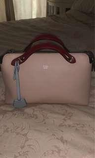 Authentic Fendi in pink color inc keyholder, cards n dustbag