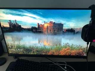 Acer KG271C 144hz+1ms response time monitor