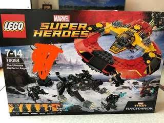 Lego 76084 只取走Hela 其他全齊