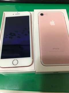 IPhone 7 128G Rose Gold