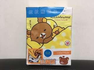 🚚 《全新現貨》拉拉熊法蘭絨毯被 Rilakkuma 冬天必備 冷氣房 辦公室 可愛毯子