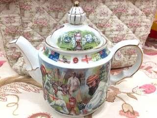 Teapot Sadler English Cricket Hero Three Lion