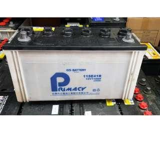 (二手中古電池) 統力 115E41R(95E41R加強) 汽車電池 數值漂亮,品項優 貨車電池/堅達/勁旺