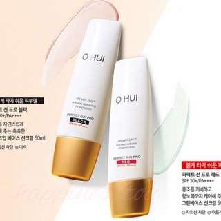 O HUI Perfect Sun Pro Black/Red  完美防曬 SPF50/PA+++ 50ml