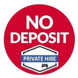 NO DEPOSIT / NO UPFRONT (Booking & Enquiries 9101-0574 (CALLS ONLY))