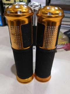 Alloy glove handle grip orange emas gold defect