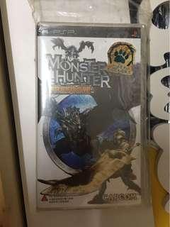 PSP UMD monster hunter
