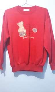 Sweater Red Bear