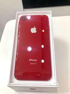 iPhone 8 64g red within the warranty