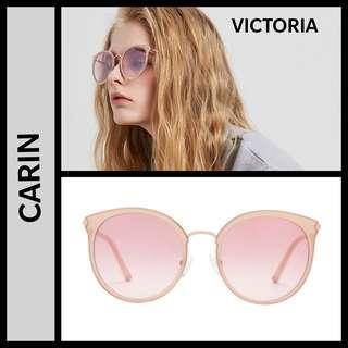 Carin Victoria pink sunglasses 2019 style