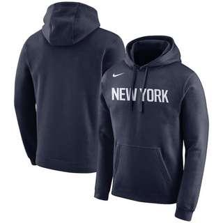 Nba nike new york knicks hoodie navy S fcrb cdg supreme mvp