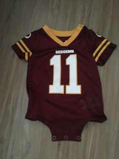 Redskins onesie
