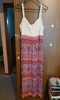Crossroads Maxi Dress. Size 18