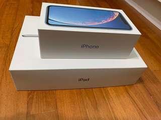 iPhone & iPad Empty Boxes