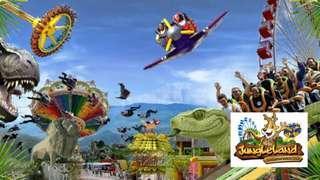 Voucher Digital Jungleland weekday, weekend, high season DISKON!!