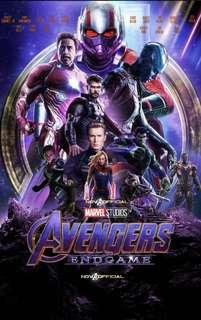 Avengers End Game Opening Day tickets